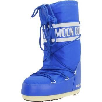 Buty Damskie Śniegowce Moon Boot 14004400 075 Niebieski
