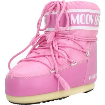 Buty Damskie Śniegowce Moon Boot 14093400 003 Rose