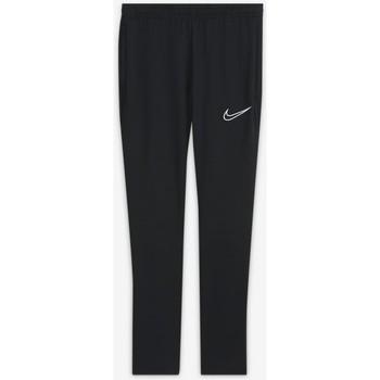 tekstylia Dziecko Spodnie dresowe Nike PANTALÓN CHANDAL NEGRO UNISEX  CW6124 Biały