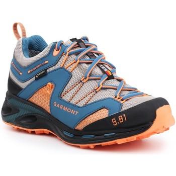 Buty Męskie Trekking Garmont Buty trekkingowe  9.81 Trail Pro III GTX 481221-211 niebieski, pomarańczowy, szary