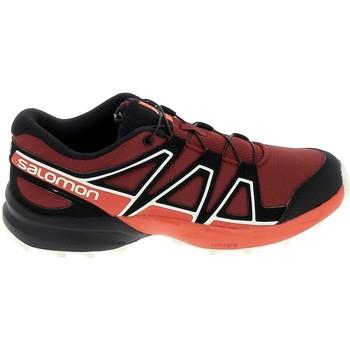 Buty Dziecko Trampki niskie Salomon Speedcross K Rouge Noir Czerwony