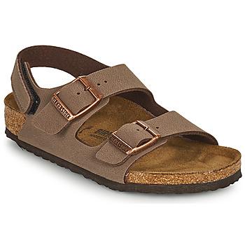 Buty Chłopiec Sandały Birkenstock MILANO HL Brązowy