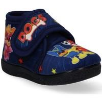Buty Chłopiec Kapcie niemowlęce Luna Collection 53392 niebieski