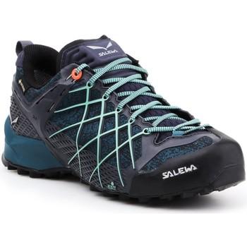 Buty Damskie Trekking Salewa Buty trekkingowe  Wildfire GTX 63488-3838 granatowy, niebieski, czarny