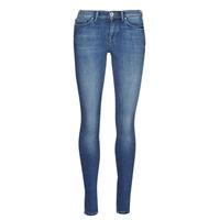 tekstylia Damskie Jeansy slim fit Only ONLSHAPE Niebieski / Medium
