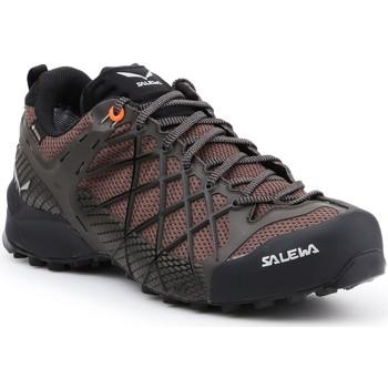 Buty Męskie Trekking Salewa Buty trekkingowe  MS Wildfire GTX 63487-7623 brązowy, czarny