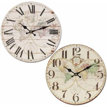 Dom Zegary Signes Grimalt Zegar Światowy 34 Cm Set 2 U Blanco