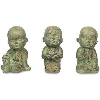 Dom Statuetki i figurki  Signes Grimalt Mały Budda Set 3 Jednostki Crudo