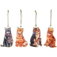 Dom Dekoracje świąteczne Signes Grimalt Wiszące Kot Na Wrzesień 4 U Multicolor