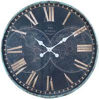 Dom Zegary Signes Grimalt Zegar Ścienny Azul