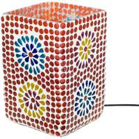 Dom Lampki nocne Signes Grimalt Mozaika Prostokątna Lampa Multicolor