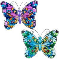Dom Statuetki i figurki  Signes Grimalt Inna Butterfly 2 Multicolor
