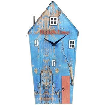 Dom Zegary Signes Grimalt Zegar Z Drewna Z Recyklingu Azul