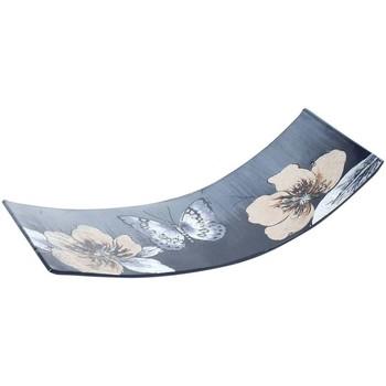 Dom Pudełka i tacki na drobiazgi  Signes Grimalt Plate Kwiat Butterfly Multicolor
