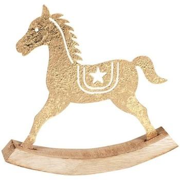Dom Dekoracje bożonarodzeniowe  Signes Grimalt Koń Na Biegunach Dorado