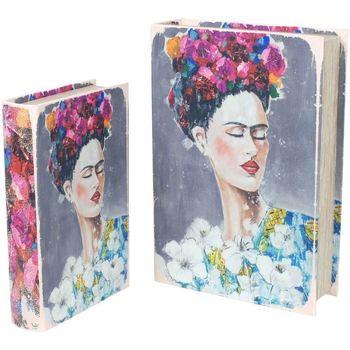 Dom Kufry, skrzynki Signes Grimalt Skrzynki Książka Frida 2U We Wrześniu Multicolor