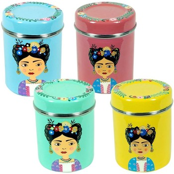 Dom Kosze, pudełka Signes Grimalt Pudełko Na Herbatę Set 4 Sztuki Multicolor