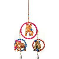 Dom Dekoracje świąteczne Signes Grimalt Indie Wisiorek Słoń Multicolor