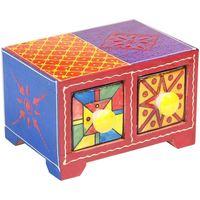 Dom Kufry, skrzynki Signes Grimalt Especiero 2 Szuflady Multicolor