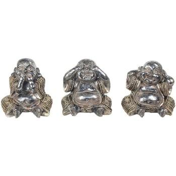 Dom Statuetki i figurki  Signes Grimalt 3 Different Budda We Wrześniu 3U Plateado