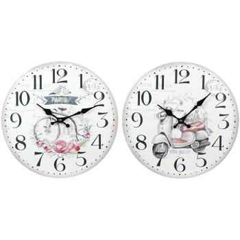 Dom Zegary Signes Grimalt Zegar Ścienny 2 Różne 2U Blanco