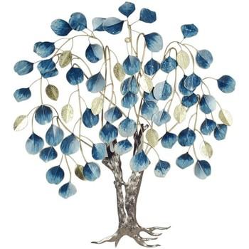 Dom Sztuczne rośliny Signes Grimalt Ozdoba Z Liści Drzewa Ściennego Azul