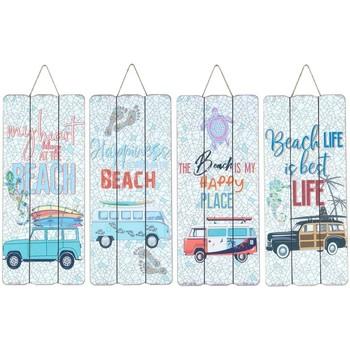 Dom Obrazy Signes Grimalt Płyta Ścienna Surf 4 Dif. Multicolor