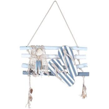 Dom Obrazy Signes Grimalt Patyczki Bawełniane Z Ozdobami Ściennymi Azul