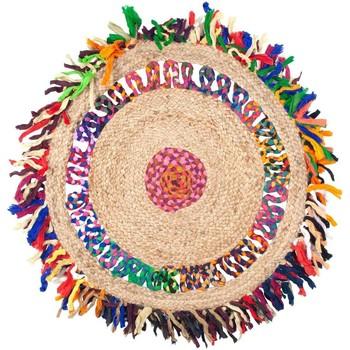 Dom Dywany Signes Grimalt Jutowe Frędzle Dywanu Multicolor