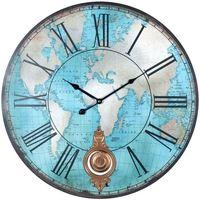 Dom Zegary Signes Grimalt Światowy Zegar Ścienny Azul