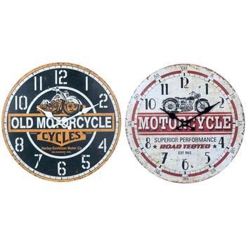 Dom Zegary Signes Grimalt Zegar Ścienny Motocykl Set 2U Multicolor