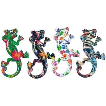 Dom Statuetki i figurki  Signes Grimalt Magnetyczny Lizard 4 Dif. Multicolor