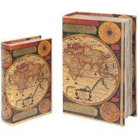 Dom Kufry, skrzynki Signes Grimalt Skrzynki Book World Września 2U Multicolor