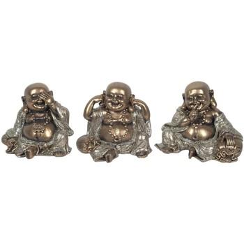 Dom Statuetki i figurki  Signes Grimalt Mały Złoty Budda 3U Dorado
