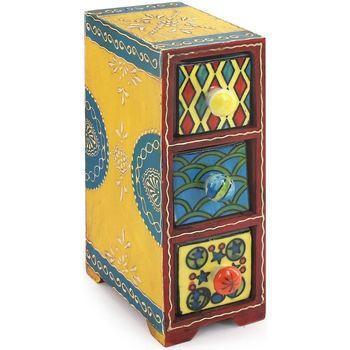 Dom Kufry, skrzynki Signes Grimalt Especiero 3 Szuflady Multicolor