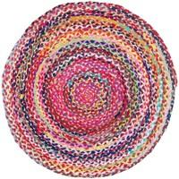 Dom Dywany Signes Grimalt Pleciony Dywanik Multicolor