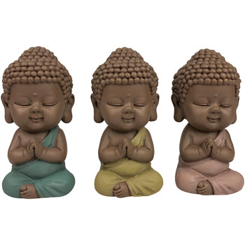 Dom Statuetki i figurki  Signes Grimalt Figura Monks 03 Września U Multicolor