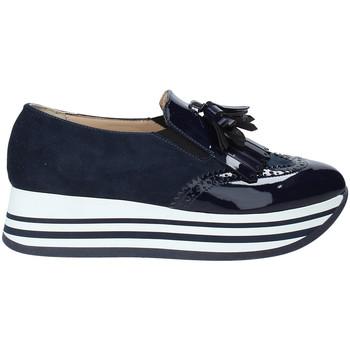 Buty Damskie Tenisówki Grace Shoes MAR016 Niebieski
