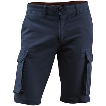 tekstylia Męskie Szorty i Bermudy Lumberjack CM80747 005 602 Niebieski