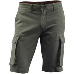 tekstylia Męskie Spodnie Lumberjack CM80747 005 602 Zielony