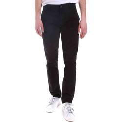 tekstylia Męskie Spodnie Gaudi 021GU25006 Czarny