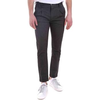 tekstylia Męskie Spodnie Gaudi 021GU25022 Czarny