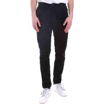 tekstylia Męskie Spodnie Gaudi 021GU25017 Niebieski