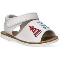 Buty Dziewczynka Sandały Bubble 54800 biały