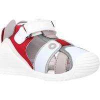 Buty Chłopiec Sandały Biomecanics 212144 Czerwony
