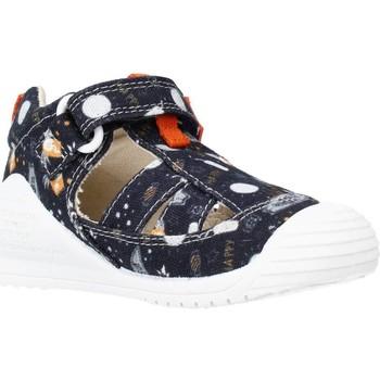 Buty Chłopiec Sandały Biomecanics 212221 Niebieski