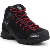 Buty Damskie Trekking Salewa Buty trekkingowe  WS Alp Mate Mid WP 61385-0998 czarny