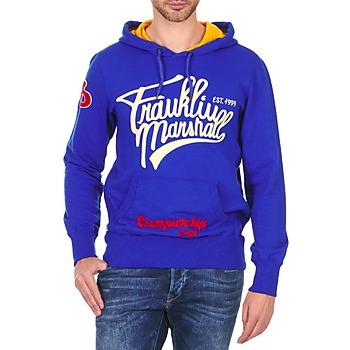 tekstylia Męskie Bluzy Franklin & Marshall SUNBURY Niebieski
