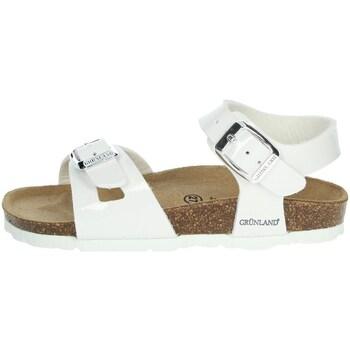 Buty Dziewczynka Sandały Grunland SB0018-40 'Biały