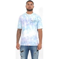 tekstylia Męskie Koszulki polo z długim rękawem Sixth June T-shirt  Custom Tie Dye noir